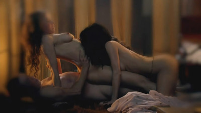 Lucy Lawless & Jaime Murray - Spartacus Gods of the Arena - S01E02_4