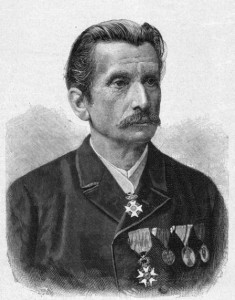 circa 1890:  Leopold von Sacher-Masoch (1836-1895). German novelist. Born in Lemberg, son of a police director in the Austro-Hungarian empire. Professor of history at Lemberg from 1860. Works include 'Don Juan of Kolomea' 1866, 'Jewish Stories' 1878, 'Venus in Fur' 1870, 'The Serpent in Paradise' 1890. The term 'masochism' was coined to describe a form of eroticism detailed in his later works.  (Photo by Hulton Archive/Getty Images)